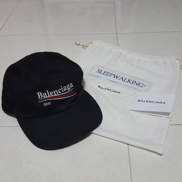 b3474425fdf81 Balenciaga 2017 Black Cap