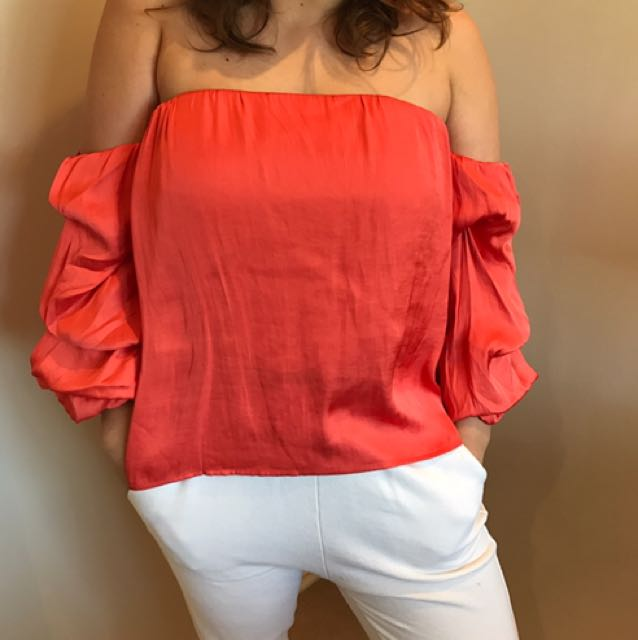 Bardot Off Shoulder Top size 14