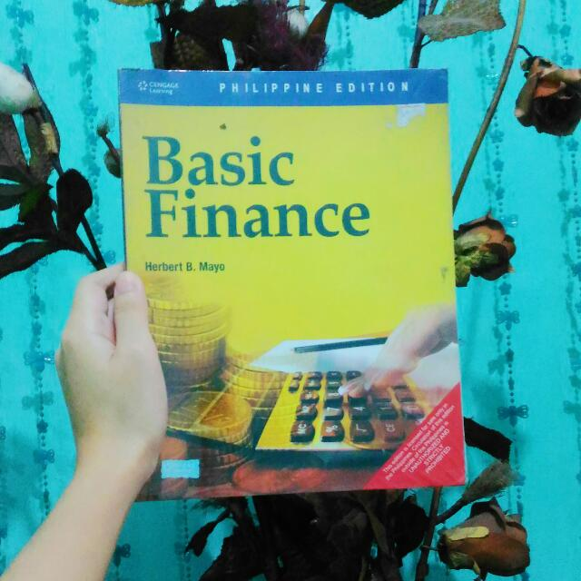 BASIC FINANCE by HERBERT B. MAYO.