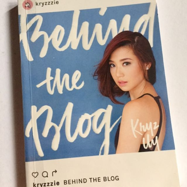 Brand New Behind The Blog Book