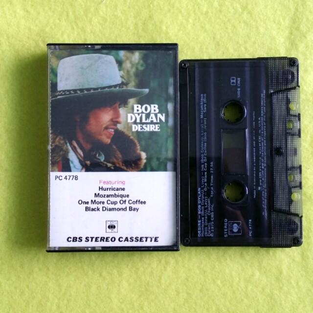 BOB DYLAN  desire  Cassette tape not vinyl, Vintage