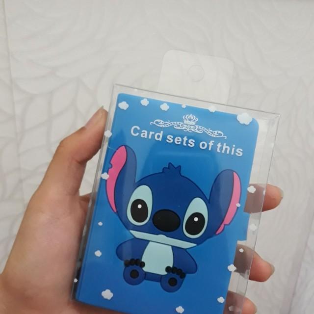 Card holder stitch