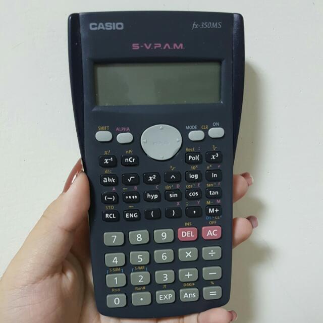Casio工程型計算機