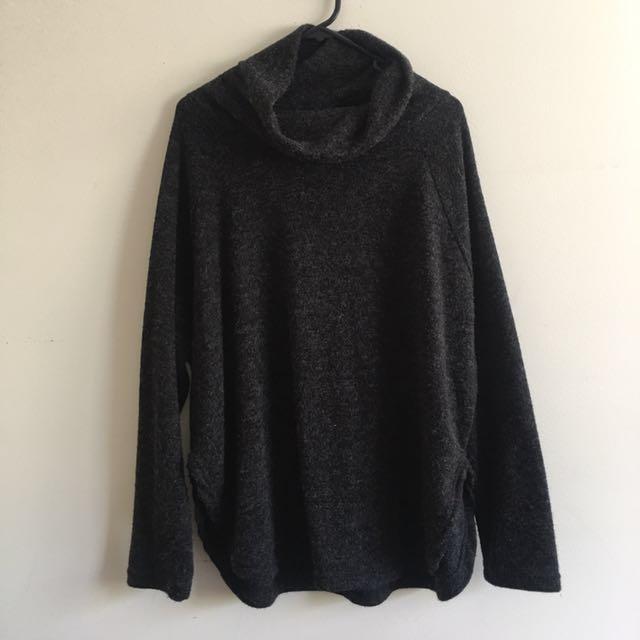 Charcoal knit Ishka jumper