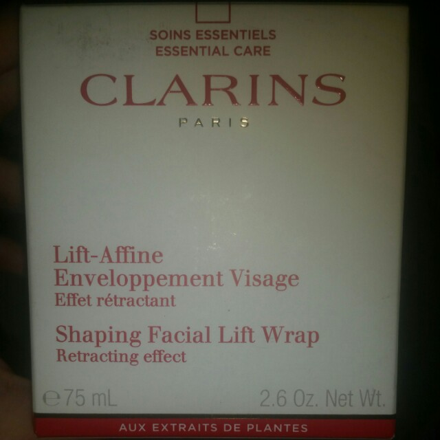 Clarins Shaping Facial Lift Wrap- Reprices