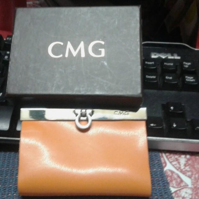 CMG leather key holder
