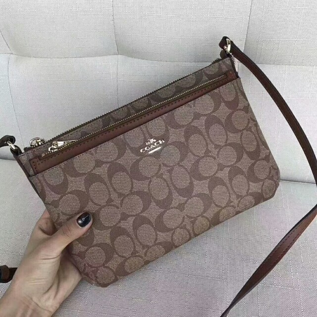 eb41675a78af6 ... official store coach east west crossbody with pop up pouch in signature  luxury bags wallets on