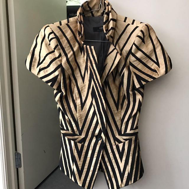 Cue short sleeve blazer 6