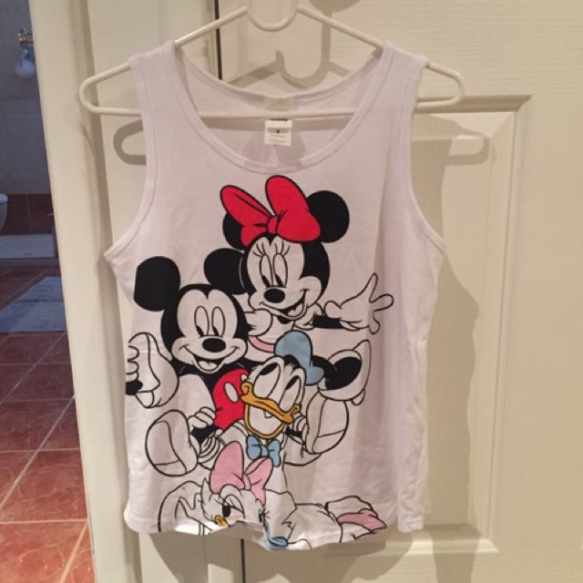 Disney Micky And Minnie Mouse Top