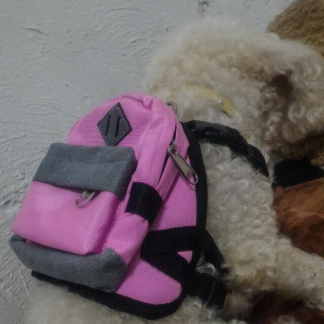 Dog Leash Backpack