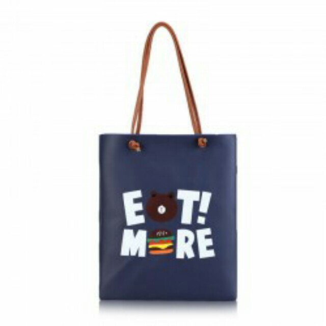 Eat More Shoulder Bag