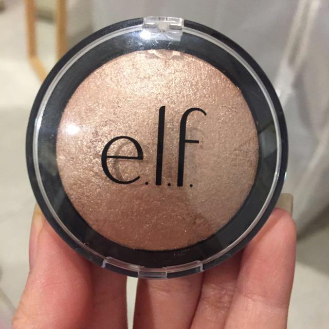 "ELF Baked Highlighter in Shade ""Blush Gems"""