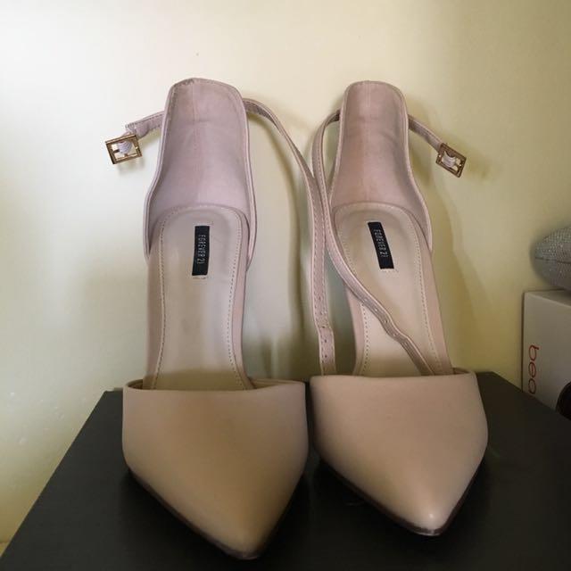 F21 Nude Heels (REDUCED!)