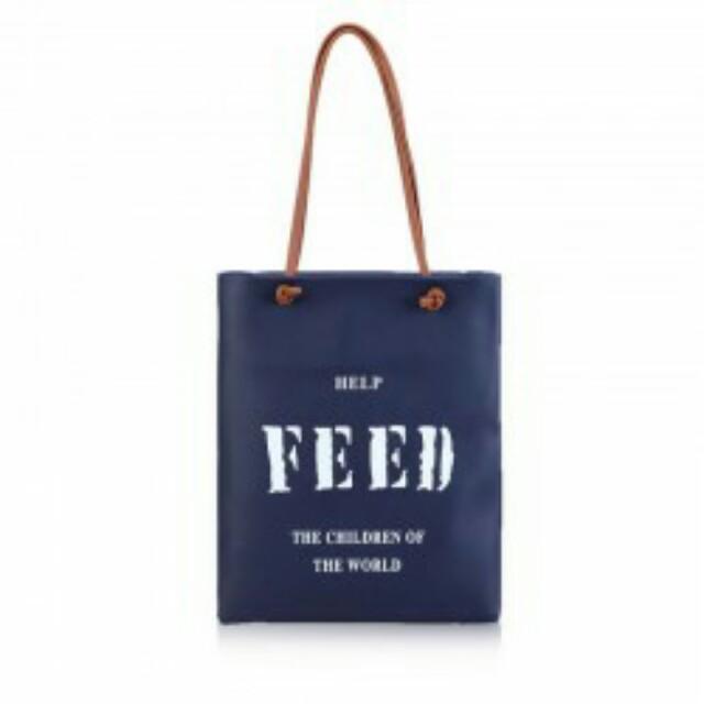 FEED the WORLD Shoulder Bag Pink