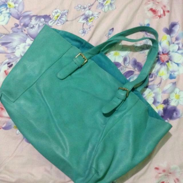 For Me Turquoise Bag