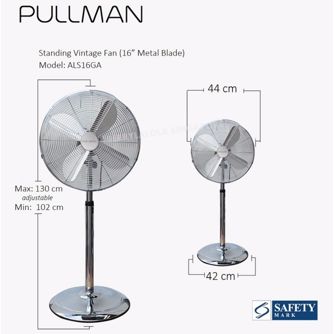 and products oscillating pin pedestal fan