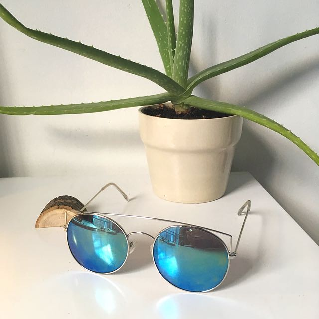 Free People Reflective Sunglasses