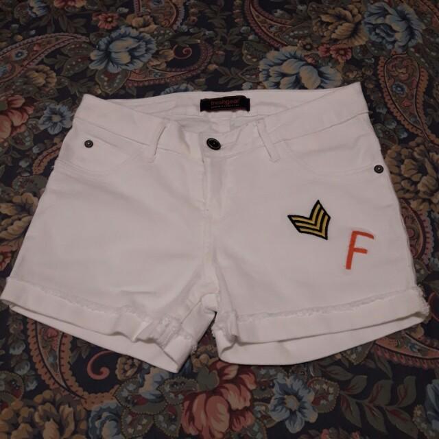 Freshgear White Shorts