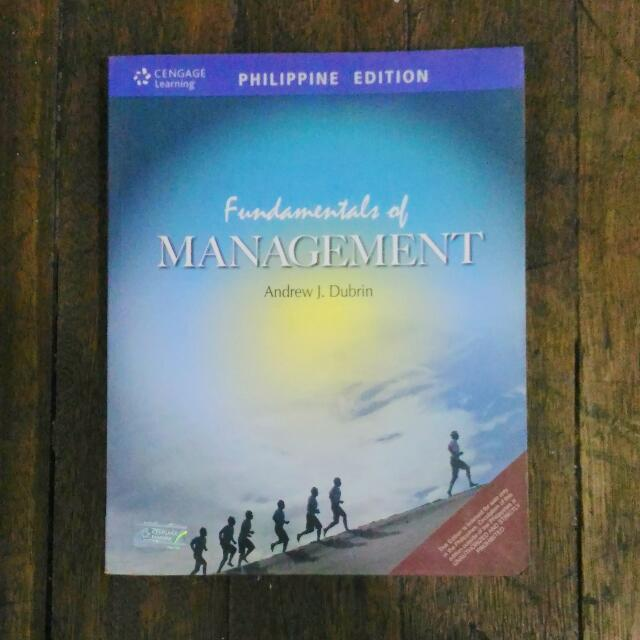 FUNDAMENTALS OF MANAGEMENT PHILIPPINE EDITION by DUBRIN.