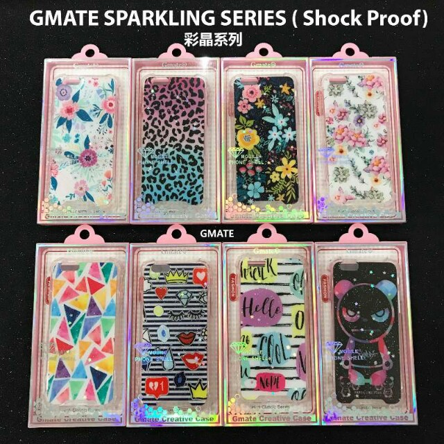 Gmate Colorful Sparkling Shock Proof Series