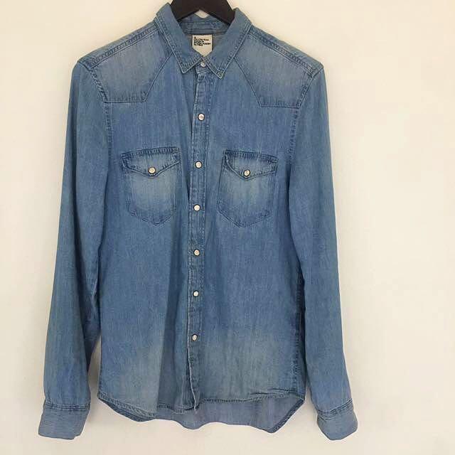 H & M Denim Shirt Size S
