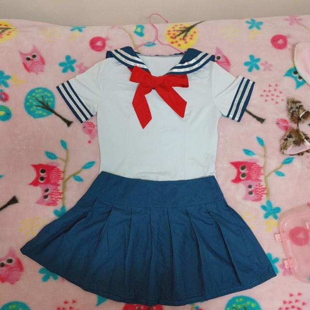 Halloween little sailor costume