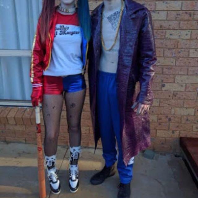 Harley Quinn And Joker Costume