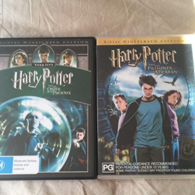 Harry Potter DVD's x 2