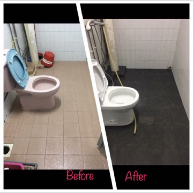 Hdb toilet package ( 1 day package )