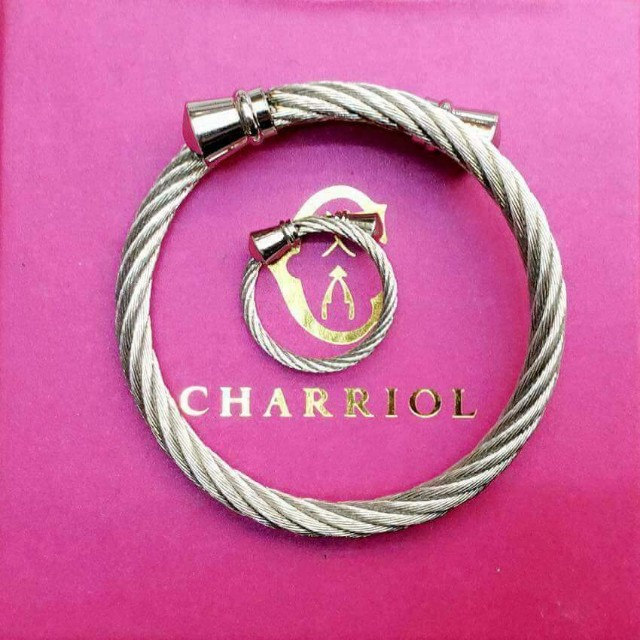💖High-end quality of Stainless Bangle & Ring💖