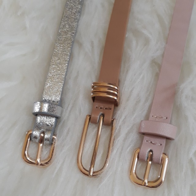 H&M slim Belt size L