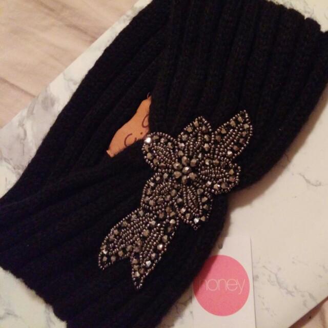 Honey Headband Winter Hat