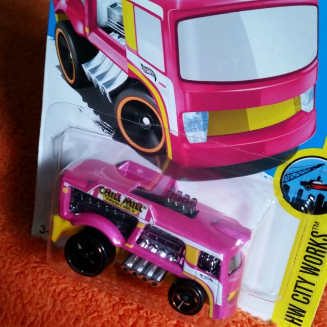Hot Wheels HW City Works Chill Mill, Toys & Games, Bricks & Figurines on Carousell