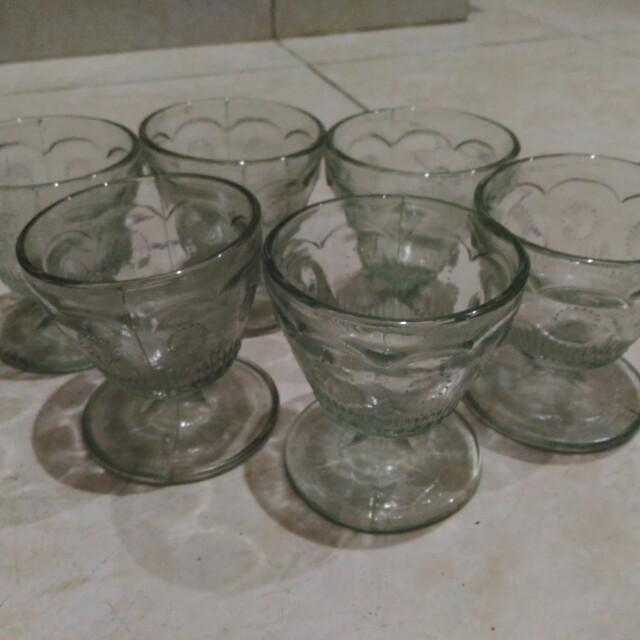 Ice Cream Cup Glass / Sundae Glasses