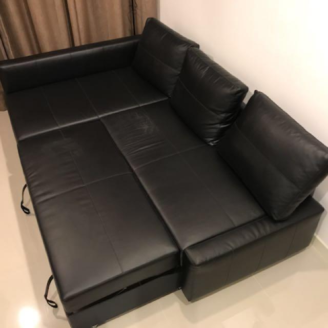 Ikea Friheten Corner Sofa Bed With Storage Home Furniture On Carou