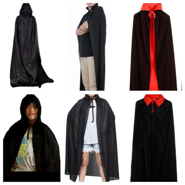 in stock halloween cloaks robes capes dracula cloak vampire cloak cape robe halloween costume mens fashion clothes on carousell