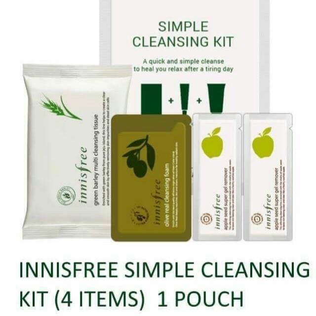 INNISFREE SIMPLE CLEANSING KIT