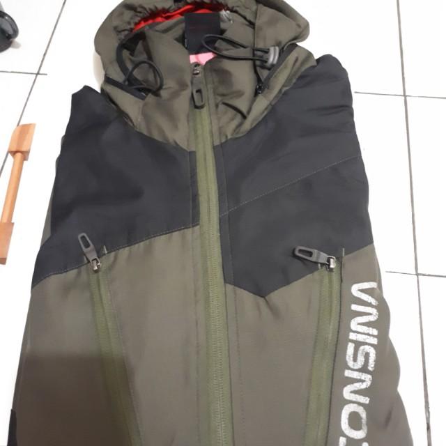 Jaket Consina hijau army XXXL