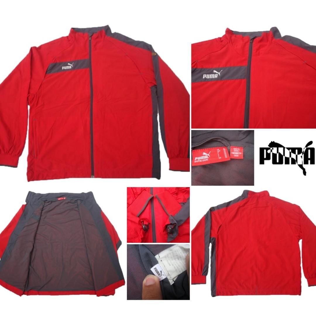 Jaket Track Puma King Special Sport Outdoor Original Big Size