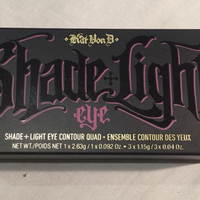 Kat Von D Shade and Light Plum Eye Quad Brand New