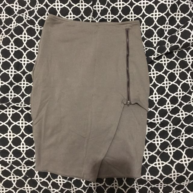 Kookai Zipper Skirt
