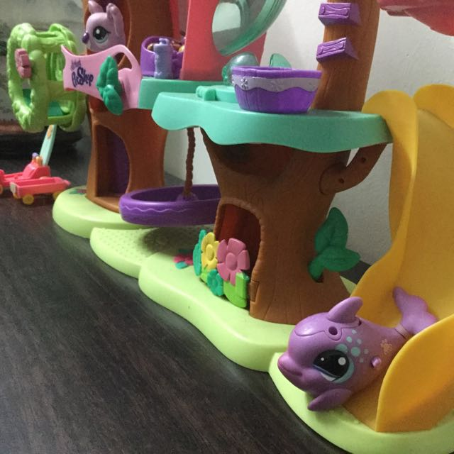 Littlest Pet Shop Dolphin Walkable Toys Games On Carousell