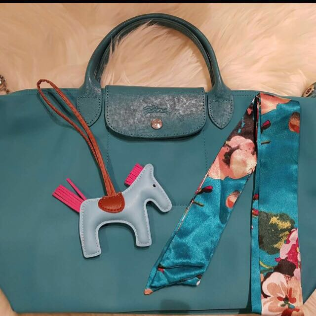 Longchamp with rodeo and a pair of twillies