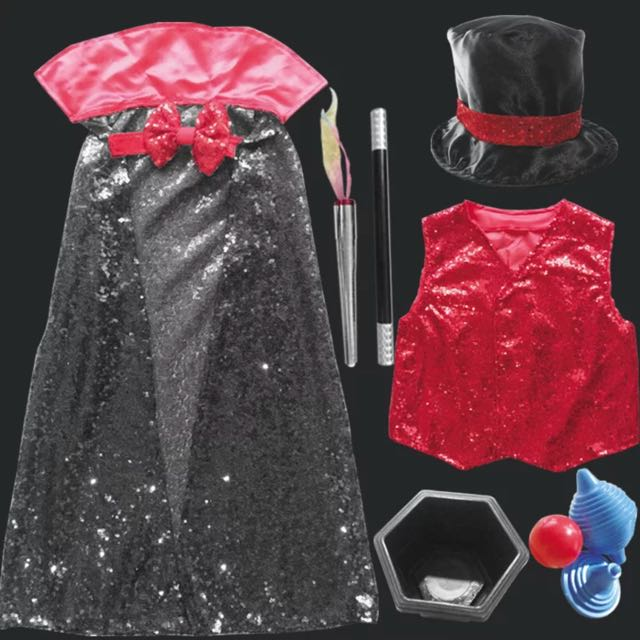 Magician costume/ dress up for kids