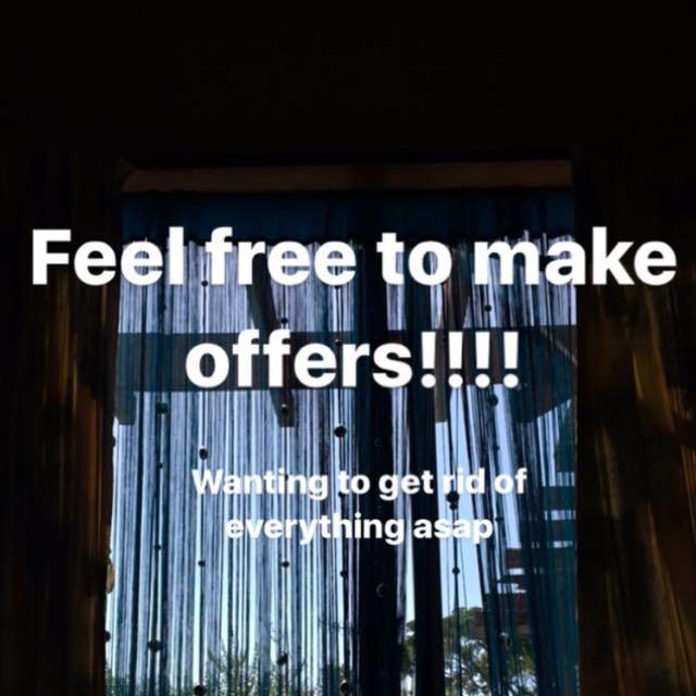 Make offers ☺️