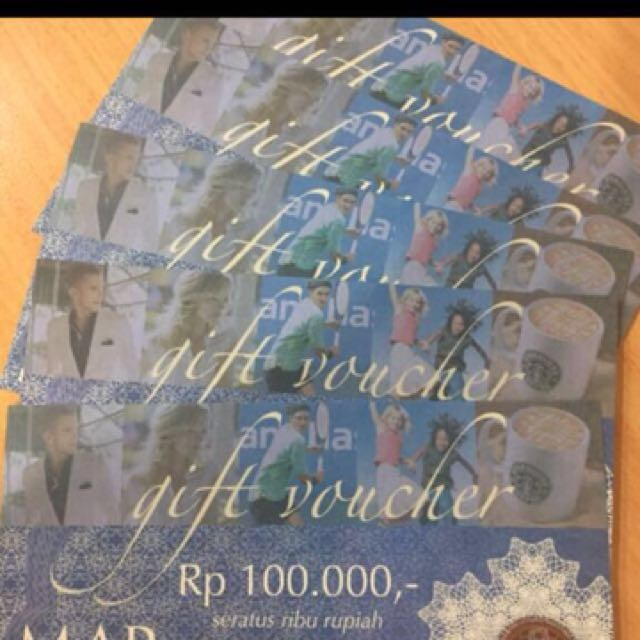 MAP Gift voucher & Carefour Voucher