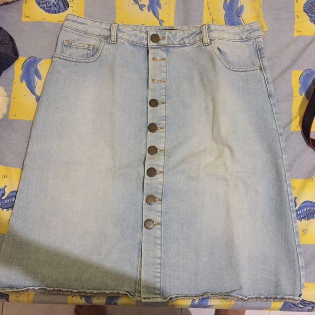 Marks & Spencer Jeans Skirt