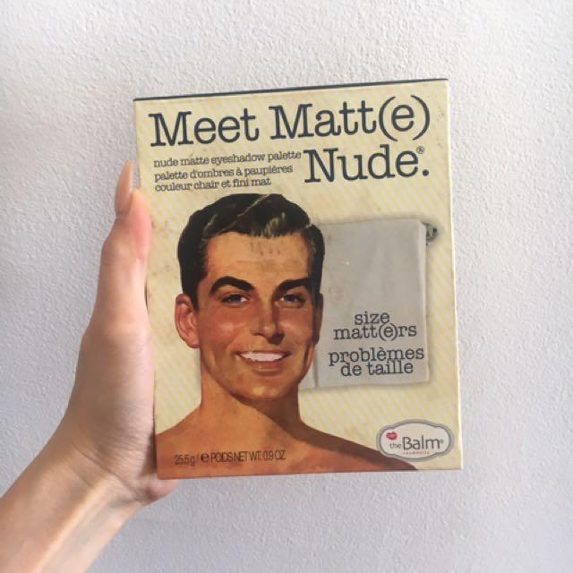 Meet matte