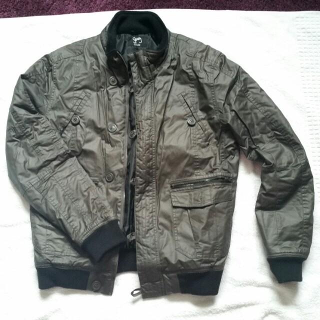 Men's Bomber/Cargo style Jacket
