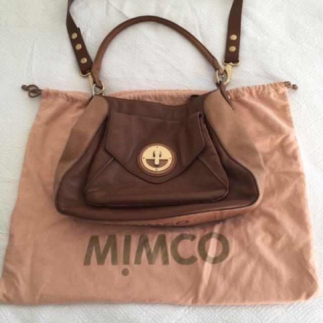 Mimco - Tan Handbag / Satchel